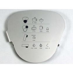 Крышка корпуса кухонного комбайна - KW714173